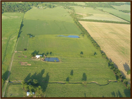 Overhead view of RIGHT Youth Ranch